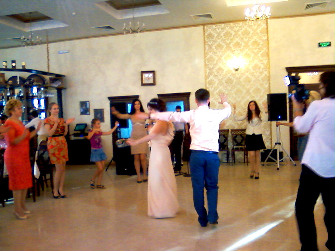 Танец на армянской свадьбе... - Тамара (st.tamara)