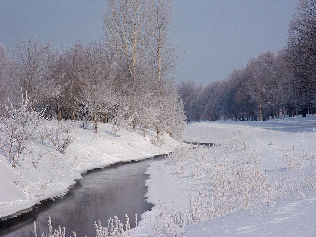 Весенний ручей. Самарская область - MILAV V