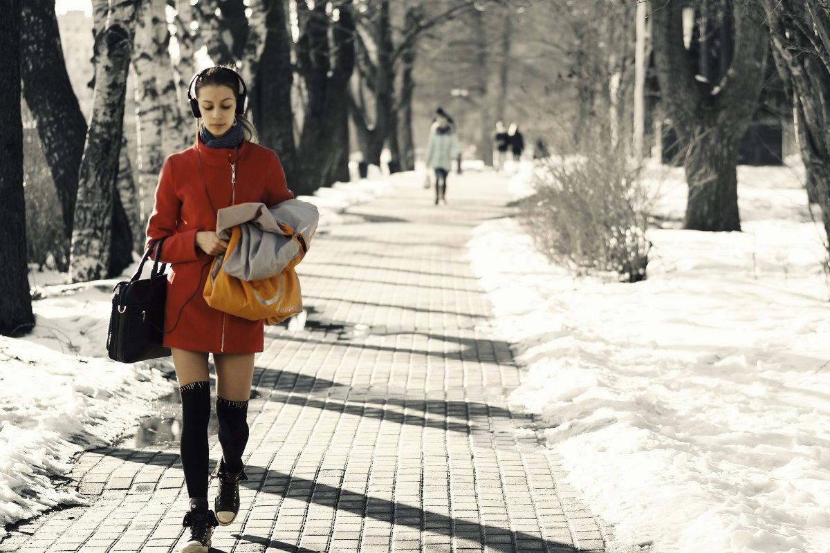 весна идёт) - ksanka skornyakova