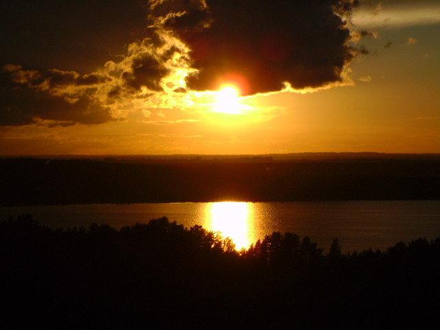 Вид из окна на залив Сярюнлахти - Светлана Краснова