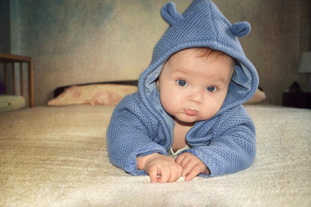 Мой сыночек в 4 месяца:) - Анна Гостева