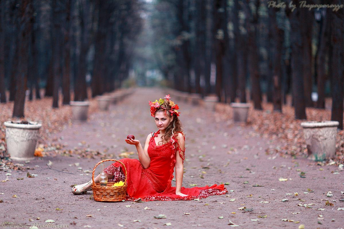 Девушка-осень - Виктор Мушкарин (thepaparazzo)