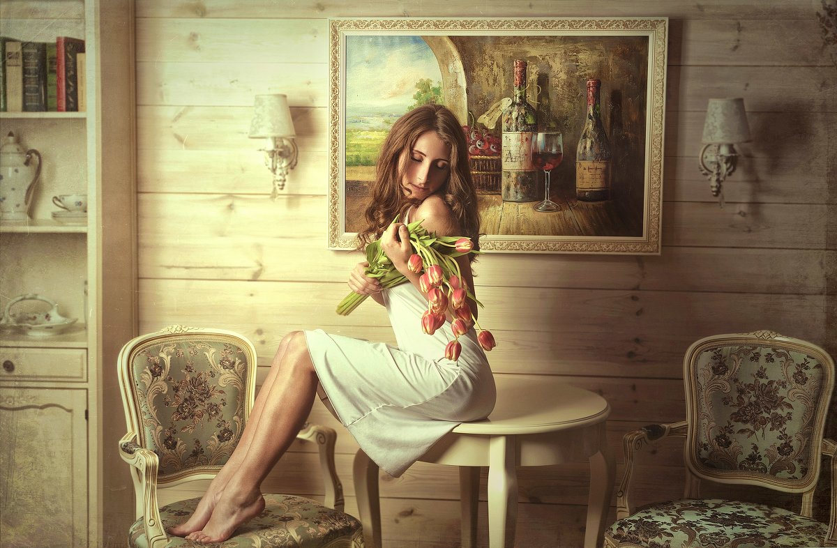 Тюльпаны.. - Андрей Хабаров