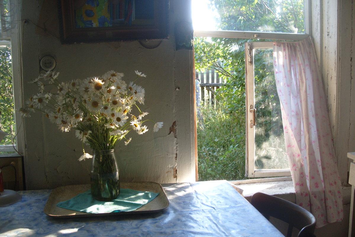 летнее утро в деревне - Наталья