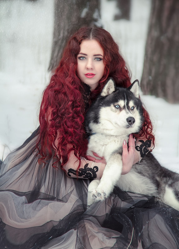the Queen of winter - Ольга