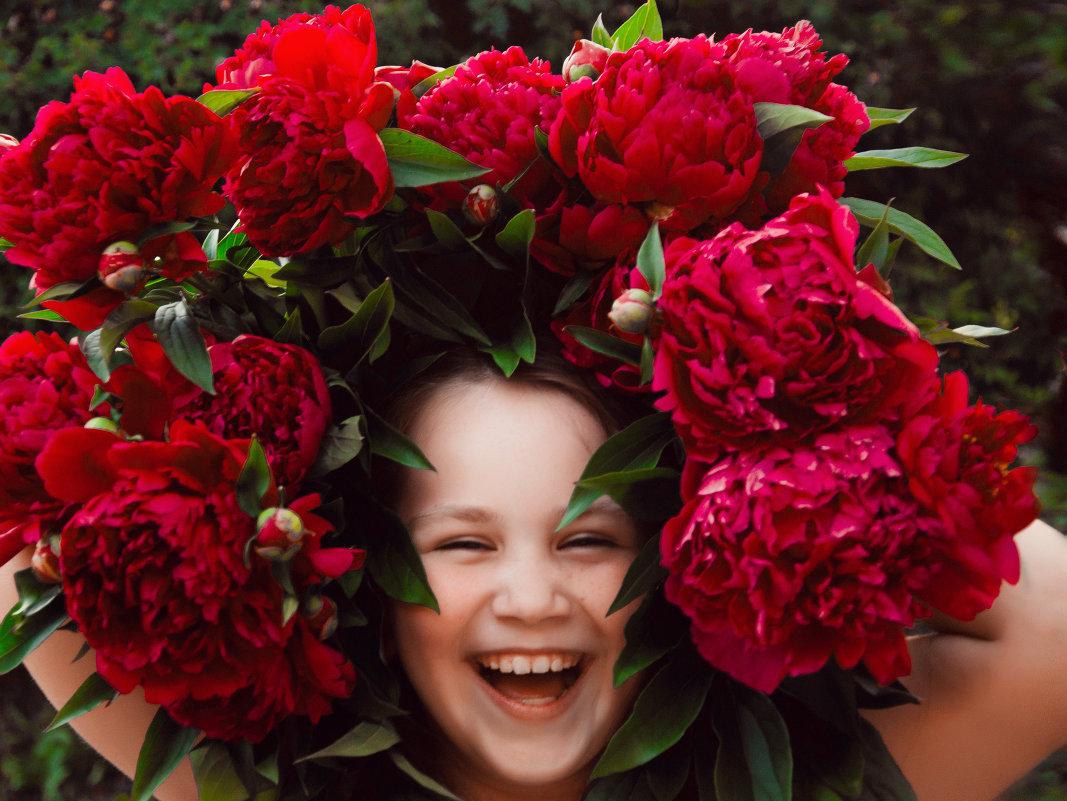 счастье с пионами - Екатерина Иванова