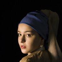 Девушка с жемчужной сережкой :: Melina Poghosyan