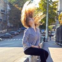 Солнце в волосах :: Надежда Кульбацкая