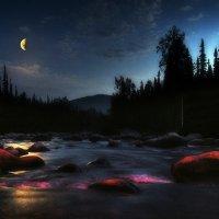 Лунная ночь на Бельсу :: Сергей Коновавлов