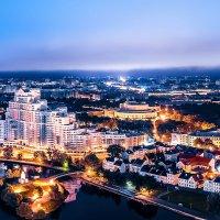 Beautiful Night Minsk :: Aliaksandr Tarasevich