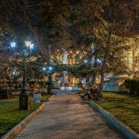 Вечер на Приморском бульваре :: Александр Пушкарёв