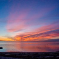 Закат на Белом море :: Валерий