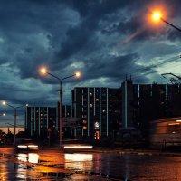 Ночной трамвай :: Сергей Вишняков