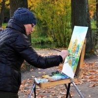 Осенняя картина :: Светлана Шарафутдинова