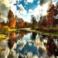 Осенний пейзаж :: Наталья Бычкова
