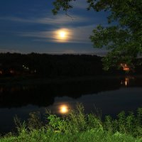 Восход луны . :: Инна Щелокова