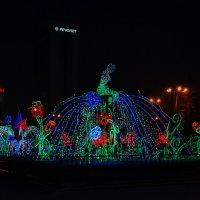 Зимний фонтан :: Татьяна Соловьева