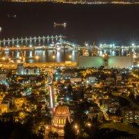 Хайфа ночью :: Witalij Loewin