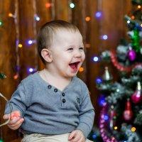 Дети самые счастливые в Новый Год :: Оксана