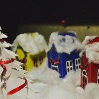 Рождественские домики :: Екатерина Таскаева