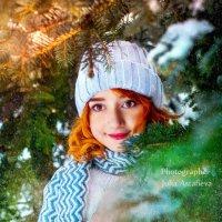 А в Башкирии мороз, у нас на съемках отмёрз нос :: Юлия Астафьева