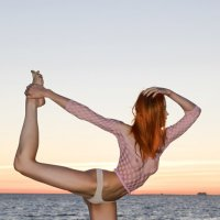 танец на закате :: Андрей Игоревич