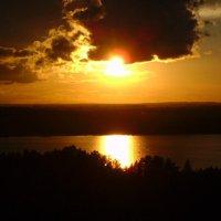 Вид из окна на залив Сярюнлахти :: Светлана Краснова