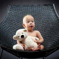 Мишка и малышка :: Денис Хохлов