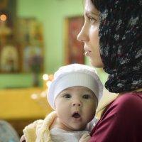 Таинство крещения :: Елена Баскакова