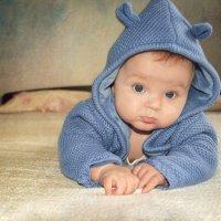 Мой сыночек в 4 месяца:) :: Анна Гостева