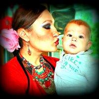 Когда мама в танцах :: Юлия
