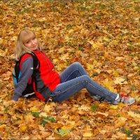 На золотом ковре Осени.... :: °•●Елена●•° ♀