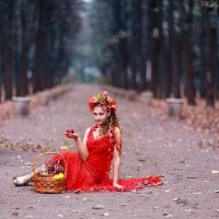 Девушка-осень :: Виктор Мушкарин (thepaparazzo)