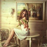 Тюльпаны.. :: Андрей Хабаров