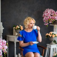 Прекрасное утро за чашечкой кофе :: Ирина Автандилян