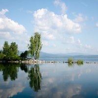 Остров Чайки. Озеро Тургояк. :: Мария Ларионова