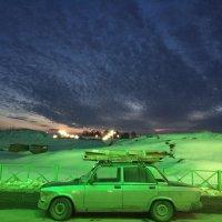 Холодные краски заката :: Anna