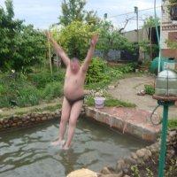 Из под воды пошел на взлет. :: Виктор