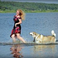 Дама с собачкой :: Римма Закирова