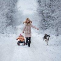 Зимние забавы :: Alena Isaeva