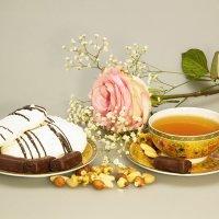 Чай с конфетами :: Aнна Зарубина