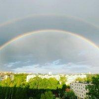 А из нашего окна двойная радуга видна :: Марина