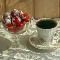 Утренний кофе :: Galina Solovova