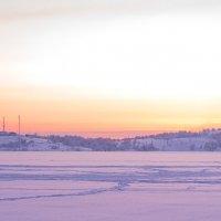 Розовый закат :: Алиса Ворфоломеева