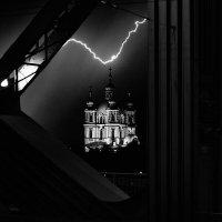 Гроза над Храмом :: Андрей Мясоедов