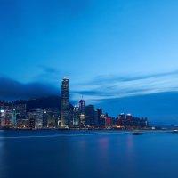 Гонконг на закате :: Георгий Муравьев