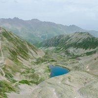 """Вид на """"Мухинское озеро"""" с вершины """"Шобайдакъ"""" :: Диана"""