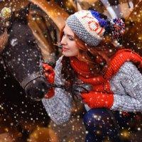 Зимняя прогулка с Богиней :: Ольга Гнатко