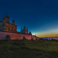 Закат в Переславле-Залесском. :: юрий макаров