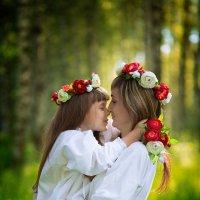 Мама и дочка :: Елена